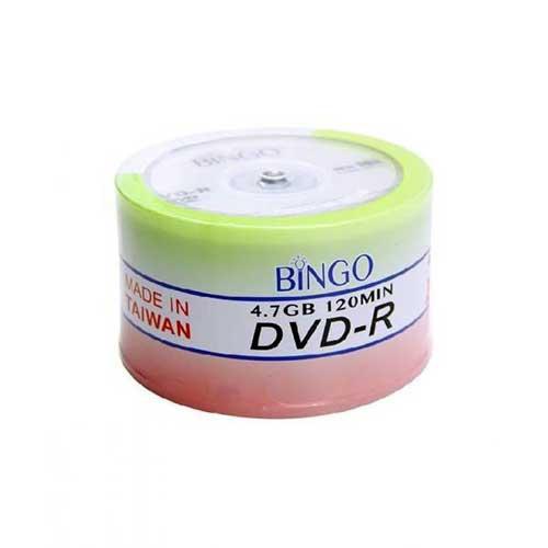 دی وی دی خام Bingo پک 50 تایی