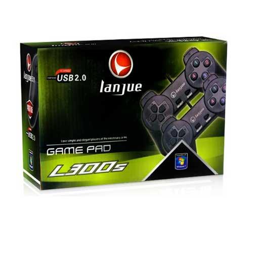 دسته بازی کامپیوتر دوبل ساده Lanjue مدل L300S