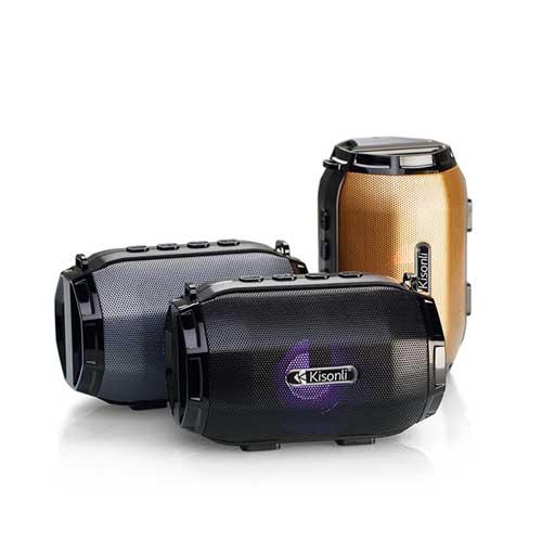اسپیکر بلوتوث Kisonli مدل LED-904