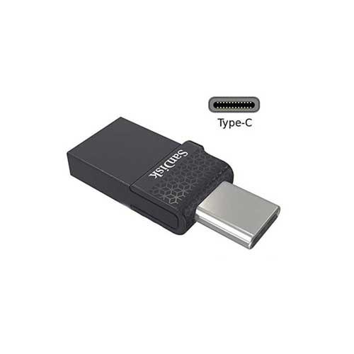 فلش OTG با ظرفیت 64 گیگ Sandisk مدل Dual Drive USB Type-C
