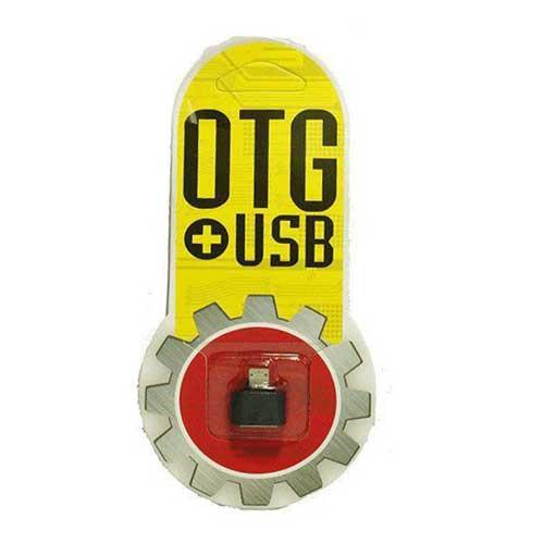 تبدیل USB به OTG اندروید پلاستیکی پکدار