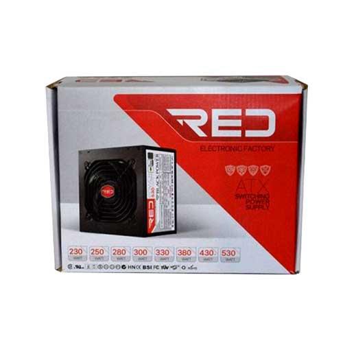 پاور کیس کامپیوتر RED مدل 230 وات