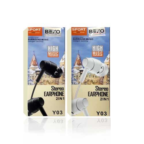 هندزفری اسپورت Bexo مدل Y03