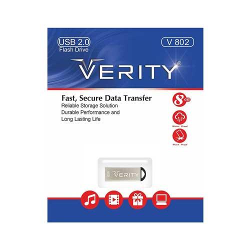 فلش ۸ گیگ Verity مدل V 802