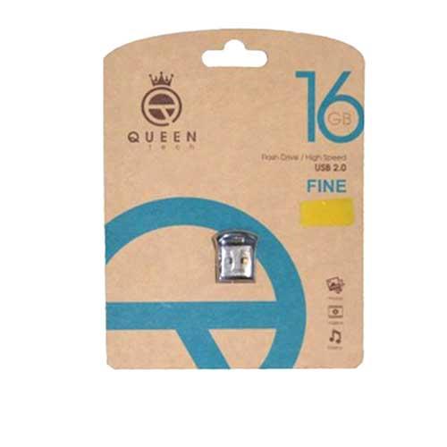 فلش 16 گیگ Queen Tech مدل Fine