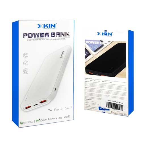 پاوربانک Xkin مدل XKBP04 با ظرفیت 10000 میلی آمپر