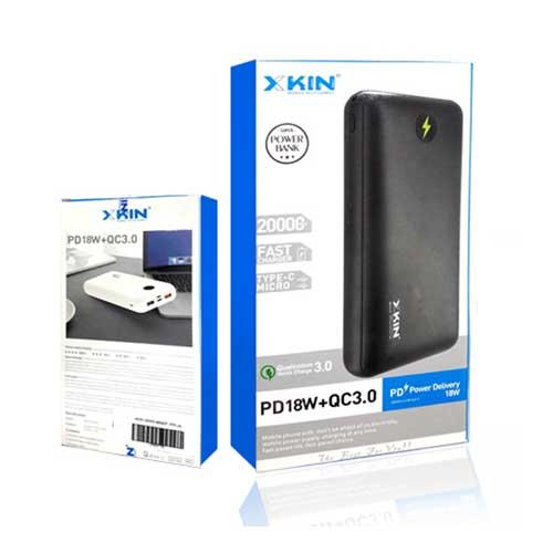 پاوربانک Xkin مدل XKBP05 با ظرفیت 200000 میلی آمپر