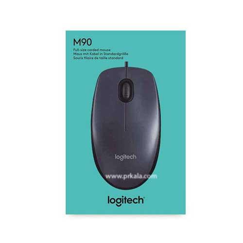 موس سیم دار Logitech مدل M90