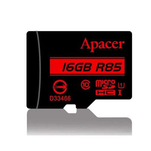 رم میکرو 16 گیگ Apacer کلاس ۱۰ استاندارد UHS-I