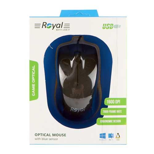 موس سیم دار Royal مدل R-M201