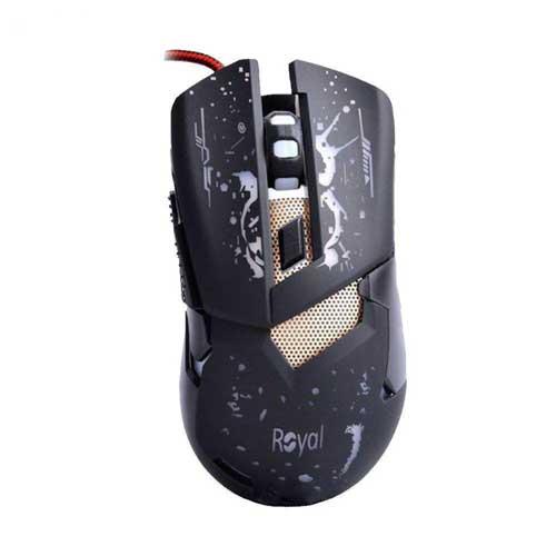 موس گیمینگ سیم دار Royal مدل MG-403