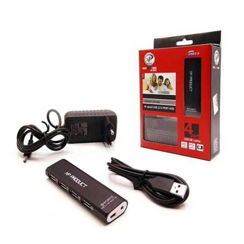 هاب چهار پورت USB2.0 ایکس پی پروداکت مدل XP-H824