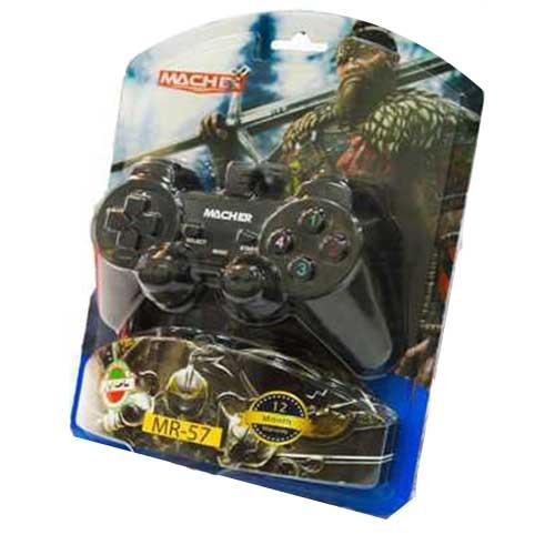دسته بازی کامپیوتر شوک دار Macher مدل MR-57