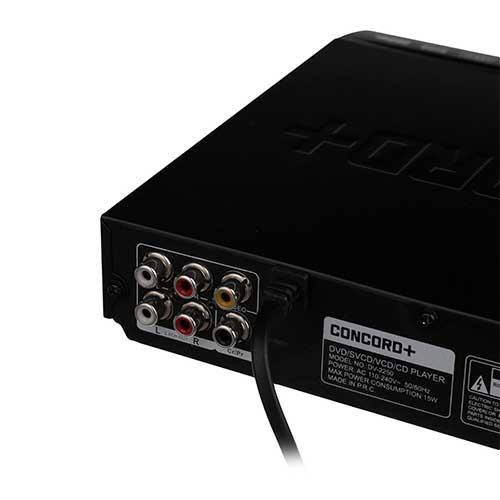 دستگاه پخش DVD کنکورد پلاس مدل DV-2250