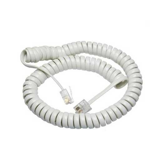 کابل تلفن فنری