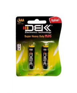 باتری نیم قلم DBK مدل Super Heavy Duty Plus