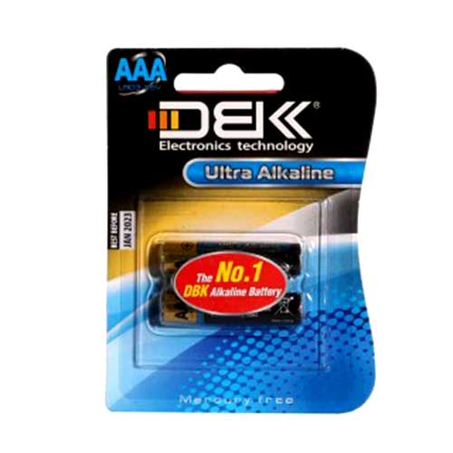 باتری نیم قلم آلکالاین DBK Ultra Alkaline مدل LR6