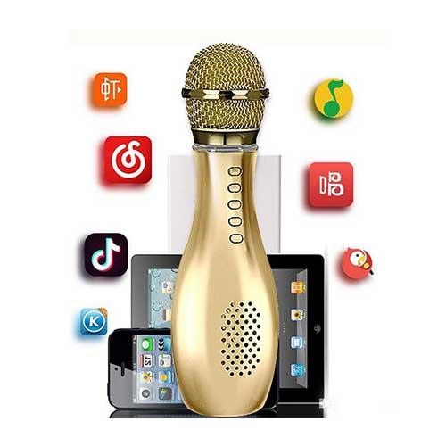 میکروفون بلوتوث اسپیکردار Karaoke مدل Q007