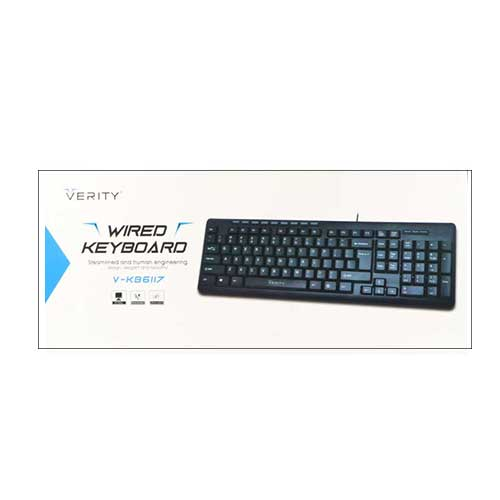 کیبورد Verity مدل V-KB6117-N