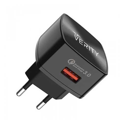 سر شارژ Verity مدل AP2118 همراه با کابل میکرو USB