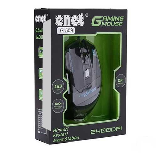 موس گیمینگ سیم دار enet مدل G509