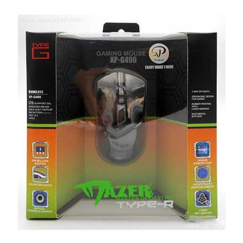 موس گیمینگ سیم دار XP Product مدل xp-G-490B