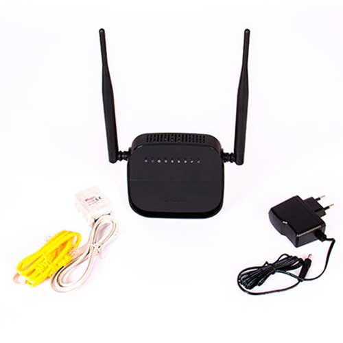 مودم روتر + ADSL2 دی لینک مدل DSL-124 New N300