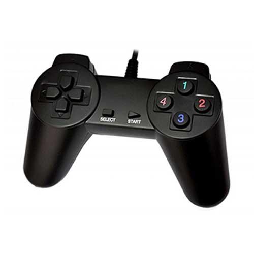 دسته بازی کامپیوتر تک ساده مدل USB-701