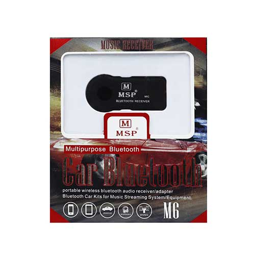 گیرنده بلوتوث صدا ماشین MSP مدل M6
