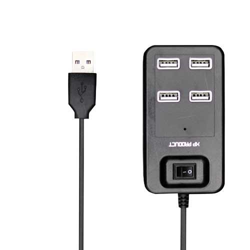 هاب چهار پورت USB2.0 ایکس پی پروداکت مدل XP-H809D