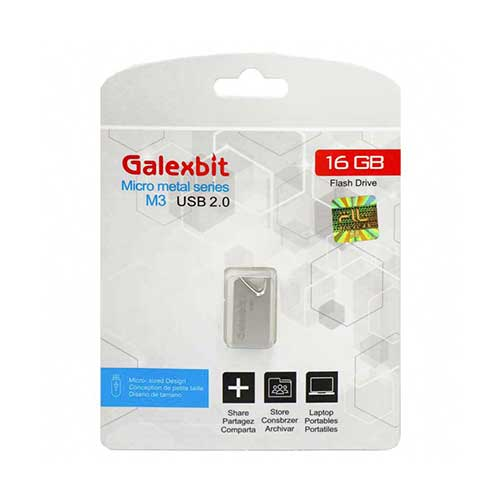 فلش 16 گیگ Galexbit مدل Micro Metal Series M3