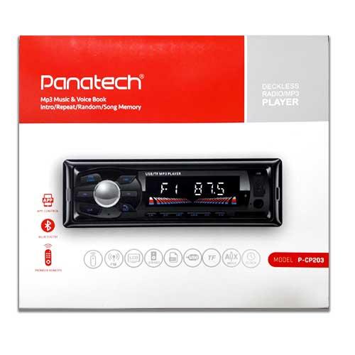 ضبط ماشین بلوتوثی Panatech مدل P-CP 203