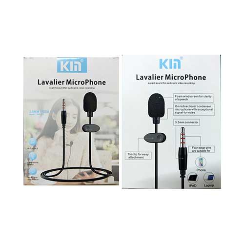 میکروفون یقه ای Lavalier مدل Kim KM-005