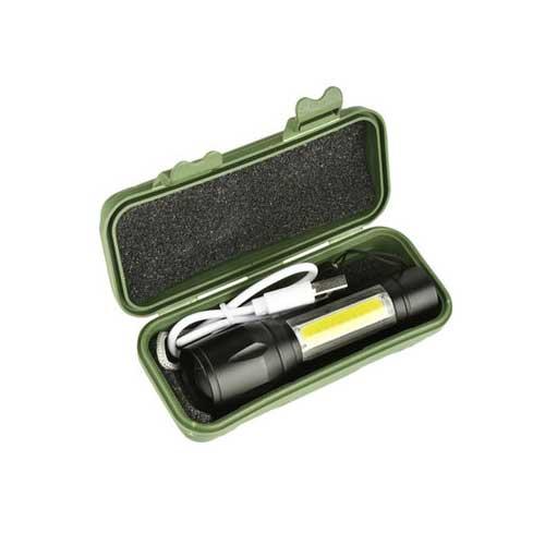 چراغ قوه پلیسی مدل XPE + COB Light