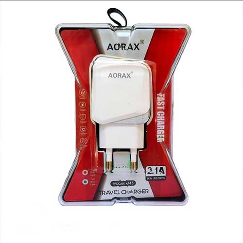 سر شارژر Aorax مدل 843 همراه با کابل میکرو USB