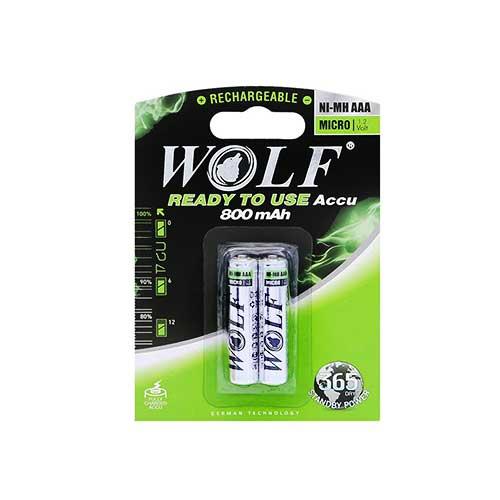 باتری نیم قلم شارژی Wolf مدل BL-2