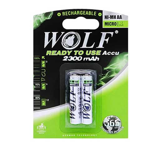 باتری قلم شارژی Wolf مدل BL-2
