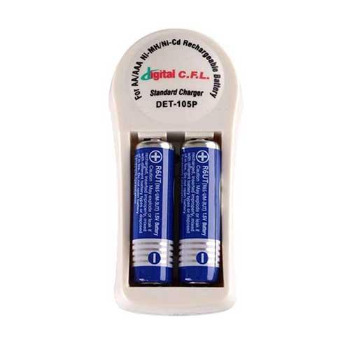 شارژر باتری دوتایی Digital C.F.L مدل DET-105P
