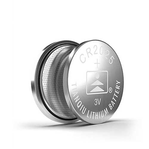 باتری سکه ای لیتیومی Tianqiu مدل CR2025 بسته 5 تایی