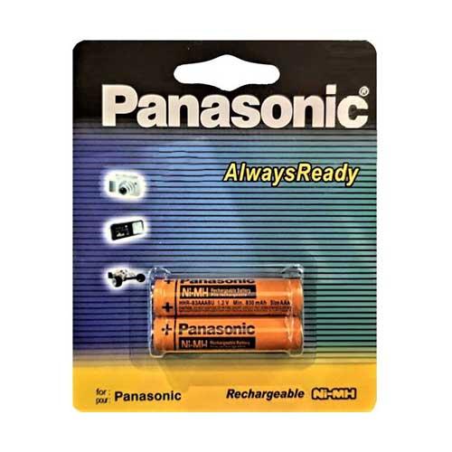 باتری نیم قلم شارژی Panasonic مدل HHR-3MRT/2BM