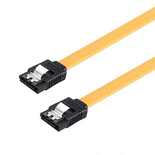کابل هارد ساتا قفل دار با طول 40 سانتی متر