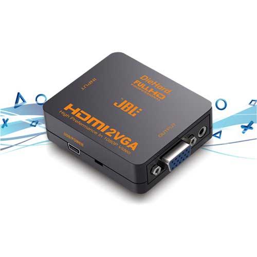 تبدیل HDMI به VGA جی بی ال مدل HV-1