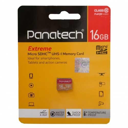 رم میکرو 16 گیگ Panatech کلاس ۱۰ استاندارد UHS-I