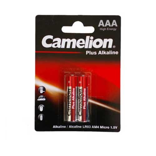 باتری نیم قلم آلکالاین پلاس Camelion مدل LR03 AM4