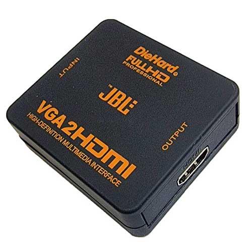 تبدیل VGA به HDMI جی بی ال مدل HV-2