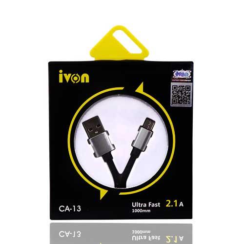کابل شارژ اندروید ivon مدل CA-13