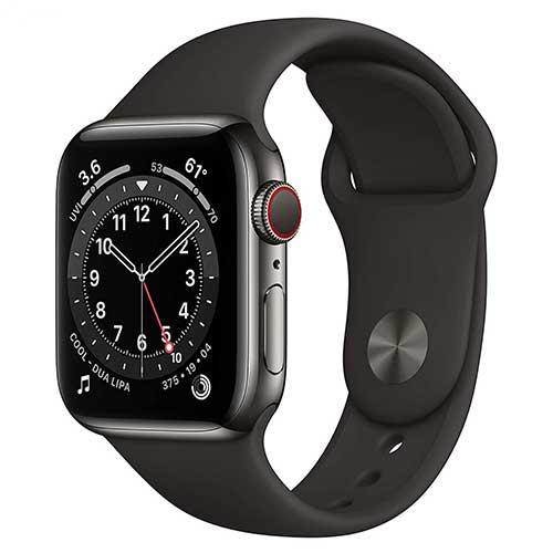 ساعت هوشمند Series 6 مدل Aluminum Case 44mm طرح اپل (غیر اصل)