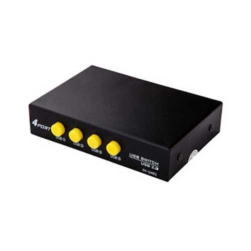 دیتا سوئیچ 1 به 4 USB دستی B-net مدل JH- U-401
