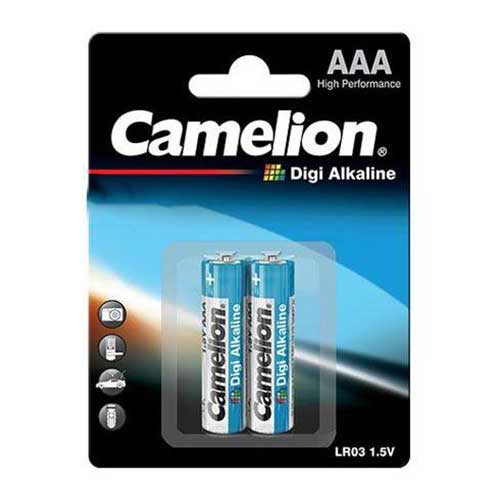 باتری نیم قلم Digi آلکالاین Camelion مدل LR03 AM4 Micro