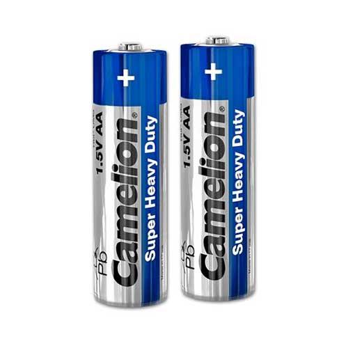 باتری قلم Camelion مدل R6P UM3 شرینگ بسته بندی 2 تایی